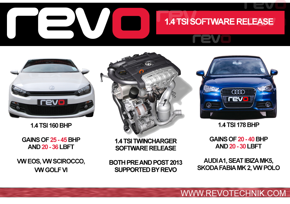 Revo Stage 1 Amp 2 Software For 1 4 Tsi 2013 Onwards
