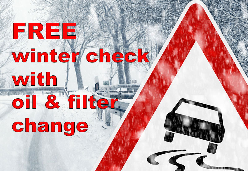 Free Winter Saftey Check With Oil And Filter Change Vagtech Limited